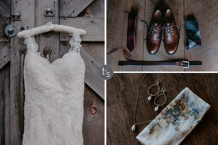 outdoor woods wedding at creekside farm best wedding photography with valerie and nick heaton